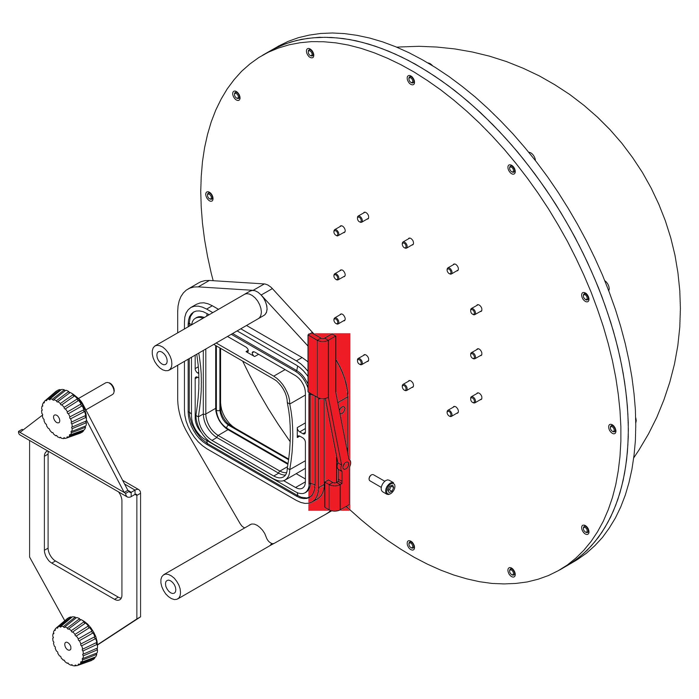 split shot dome - replacement camera dome button  u0026 screw - sjpro